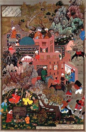 زمان و مکان در نگارگری ایرانی