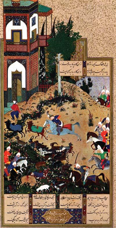 زمان و مکان در نگارگری ایرانی قسمت هفتم