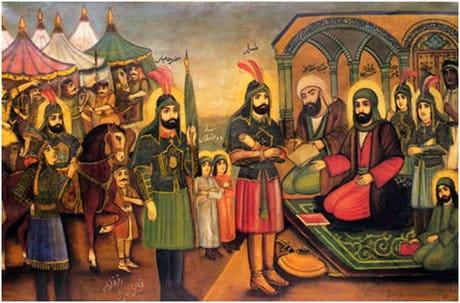 گفتگو با محمدرضا حسینی نقاش سبک قهوهخانهای