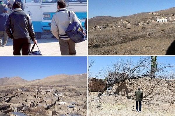 دومینوی تخلیۀ روستاهای خراسانجنوبی