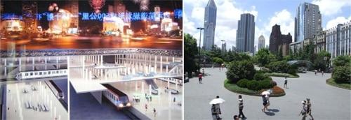 مونوگرافی: میدان خلق، شانگهای، چین